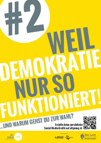 Weil DEMOKRATIE nur so FUNKTIONIERT